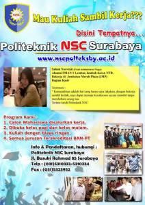 kuliah-kerja-sambil-malam-surabaya-sman 1-lembar-lombok barat-ntb-administrasi bisnis
